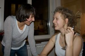 Anna and Patricia
