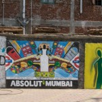 "Didn't notice the ""absolute Mumbai"" until afterwards since I took the picture from a moving taxi. :)"