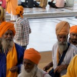 SIkh musicians in the Golden Temple